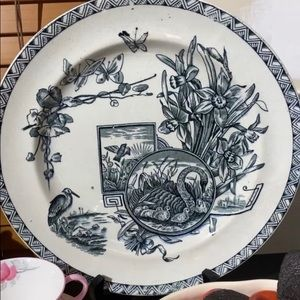 Antique English Plate ..very old